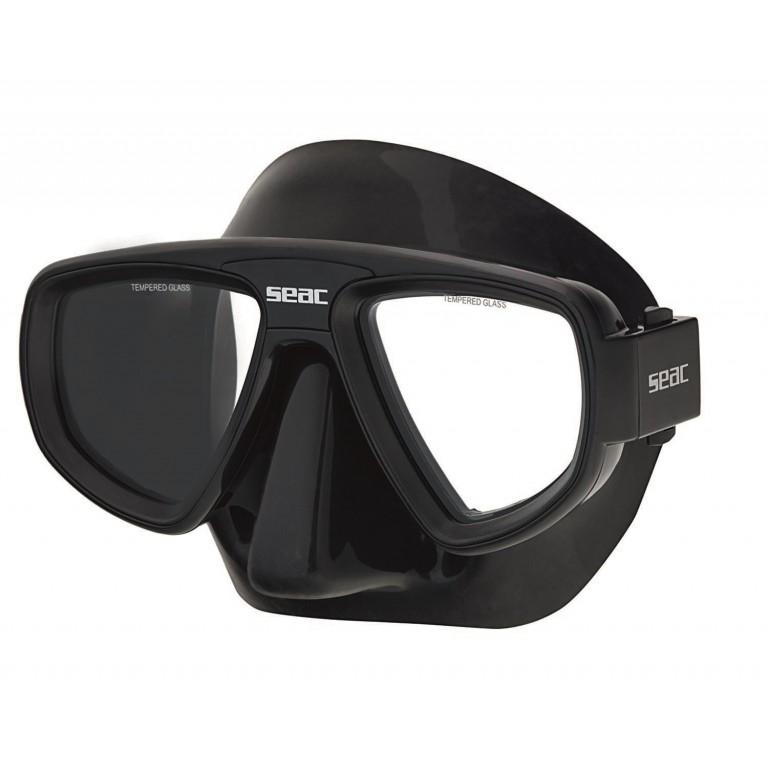 Dykkermaske Seac Extreme Black