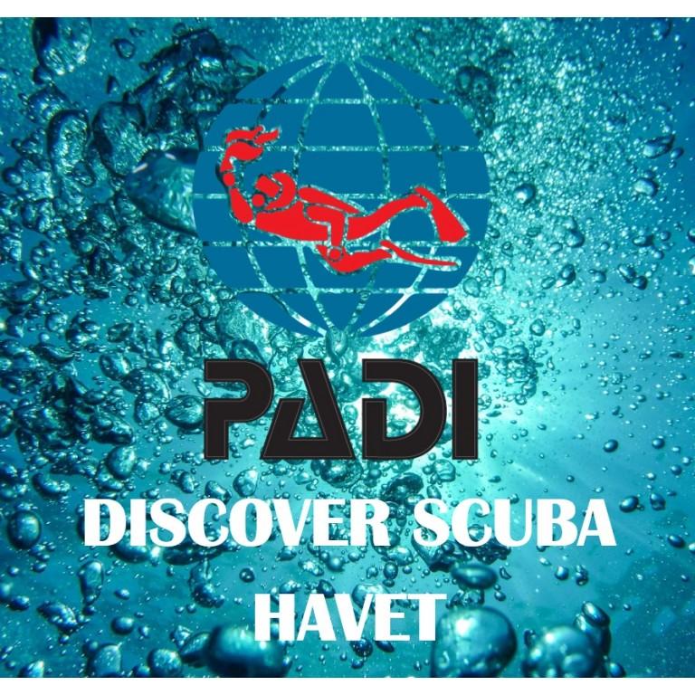 Discover Scuba i havet