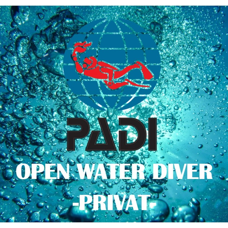 PADI Open Water Diver - PRIVAT