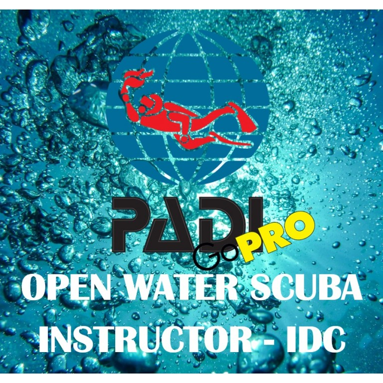 PADI Dykkerinstruktør-IDC All Inclusive